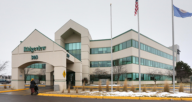 The Ridgeview Medical Office Building at 303 Nicollet Blvd. E. in Burnsville sold to Harrison Street Real Estate Capital for $20.4 million. It is one of 28 properties in a portfolio of medical office buildings that the Investors Real Estate Trust is selling. (Staff photo: Bill Klotz)