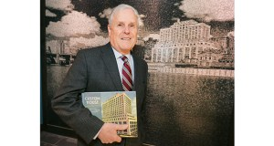 """Developer James Stolpestad, founder of Exeter Group LLC, wrote """"Custom House: Restoring a St. Paul Landmark in Lowertown,"""" while his company was renovating the building. (Staff photo: Bill Klotz)"""