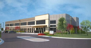 This rendering shows the design of a 30,000-square-foot office building that Wisconsin-based Compeer Financial plans to build along Keokuk Ave., west of Interstate 35, in Lakeville. (Submitted photo: Compeer Financial)