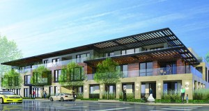 Demolition work is scheduled to begin next week at the future site of Wayzata Blu, a mixed-use building with 18 condominiums and 3,000 square feet of commercial space at 259 Lake St. E. in downtown Wayzata. It will replace four commercial buildings on the northwest corner of Lake Street East and Barry Avenue South, across Lake Street from Lake Minnetonka. (File illustration:)