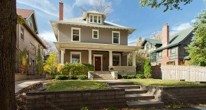 Two friends worked with an architect to restore this classic foursquare home at 1708 Irving Ave. S. in Minneapolis, which sold recently for $1.239 million. (Submitted photo: Kyle Chiodo, 20/20 Home Photography)