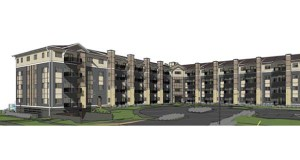 St. Paul-based Real Estate Equities has purchased the property at 1201 and 1221 Eastgate Drive SE in Rochester, Minnesota, for a 135-unit affordable housing project. (Submitted image: Dougherty Mortgage)