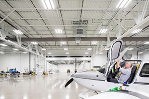 Cirrus Aircraft Completion Center, Duluth International Airport, 4970 Airport Road, Duluth (Submitted photo)