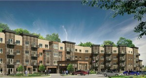St. Cloud-based Trident Development LLC is preparing to start construction on its 103-unit Urbana Place Senior Living project at 5500 93rd Ave. N. in Brooklyn Park. (Submitted image: Trident Development LLC)