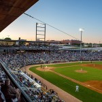 The 7,000-seat CHS Field is home to the St. Paul Saints, a member of the American Association of Independent Professional Baseball. (Submitted photo)