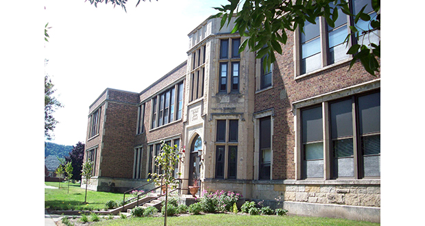 Ben Schwab's great-grandfather built Central Elementary School in Winona, Minnesota, in 1930. Now Schwab, the new owner, plans to turn the closed school at 317 Market St. into 12 condominium or cooperative units. (Submitted photo: Winona Area Public Schools)