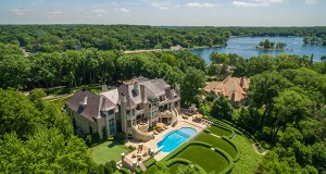 Called Bella Vista, this 18,007-square-foot mansion at 3770 Northome Road on the shore of Lake Minnetonka in Deephaven tops the list of priciest homes for sale at $15.795 million. (Photo: Spacecrafting)