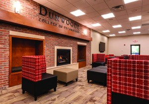 Dunwoody College of Technology added this gathering space as part of a recent $10 million renovation. The renovation is the first phase of a $50 million makeover of college's century-old building at 818 Dunwoody Blvd. in Minneapolis. (Submitted photo: Dunwoody College of Technology)
