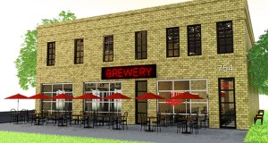 The former Fire Engine House No. 10 at 754 Randolph Ave. in St. Paul is slated to become a microbrewery, taproom and banquet hall, with restaurateur Travis Temke hoping to start work by the end of the year. (Submitted image: The Brandlove Effect)