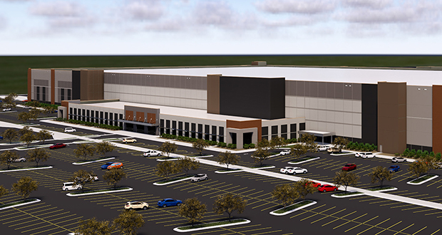 A 2.56 million-square-foot fulfillment center Scannell Properties plans to build at 10600 Xylon Ave. N. in Brooklyn Park would be the largest building of that type in the Twin Cities when it is completed. (Submitted illustration: Scannell Properties)