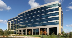 The 9320 Excelsior Blvd. building in the Excelsior Crossings office park in Hopkins will see its sole tenant, Cargill, leave or downsize within the next five years. (Submitted photo: CoStar)