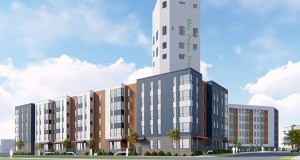 Project for Pride in Living plans to convert the Bunge grain elevator at 1220 Brook Ave. SE in Minneapolis into 50 affordable apartments. The project, known as Maya Commons, has recently received funding from both the Met Council and the city of Minneapolis. (Submitted image: UrbanWorks)