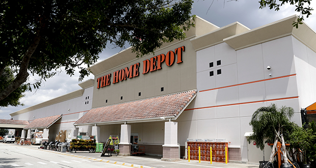 This Aug. 23, 2018 photo shows a Home Depot store in Orlando, Florida. (AP file photo)