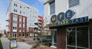 The 44 North apartments at 2701 Fourth St. SE in Minneapolis were previously named Metro Park East. (File photo: Bill Klotz)