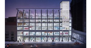 """Glass will wrap the front of Swervo Development Corp.'s """"Thirty"""" office project at 30 Ninth St. S. in downtown Minneapolis, the former home of the YMCA. (Submitted illustration: Shea Design)"""