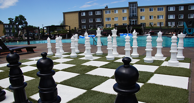 The $95 million sale of the 698-unit Concierge apartments in Richfield is the priciest apartment sale seen so far in 2018. (Submitted photo: CoStar)