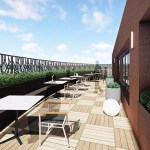 The Life Time Work space will include two rooftop terraces. (Submitted illustration: Life Time Work)