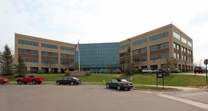 The office building at 6150 Trenton Lane N. in Plymouth sold for $20 million, less than the $24.5 million it sold for in 2004. (Submitted photo: CoStar Group)