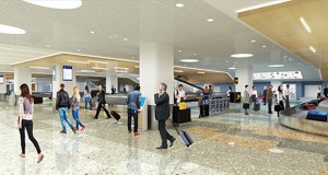 Morcon Construction was one of two bidders for a nearly $50 million project that will improve baggage claim and ticketing areas at the Minneapolis-St. Paul International Airport's Terminal 1-Lindbergh terminal. (Submitted rendering: MAC)