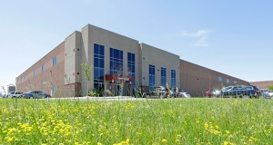 The 312,000-square-foot Red Rock Business Center at 10100 89th Ave. N. in Maple Grove sold on Oct. 16 for $27.7 million. Industrial Logistics Properties Trust was the buyer. United Properties was the seller. (Submitted photo: CoStar)