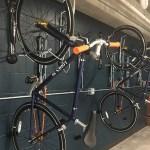 The bike room at Loden SV. (Staff photo: Matt M. Johnson)