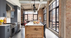 This luxury unit in the Bookmen Lofts at 525 Third St. N. in Minneapolis brought 15 people out for midweek open house on the coldest day of the year. The seller received four offers and is under contract at $1.295 million. (Submitted photo: Alyssa Lee Photography)