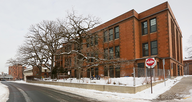Gov. Tim Walz's bonding proposal includes $28 million to complete the Institute of Child Development facility for the University of Minnesota's College of Education and Human Development. The institute is in this early-1900s building at 51 E. River Road, which was photographed in 2017. (File photo: Bill Klotz)
