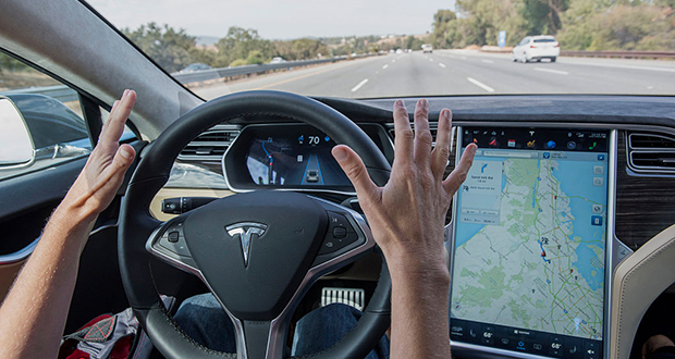 For all the concern over accidents involving driverless cars it's easy to forget one of the supposed virtues of autonomous vehicles: They will make the roads safer. (Bloomberg file photo)