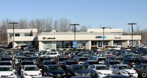 The 20,511-square-foot Lexus of Wayzata at 16100 Wayzata Blvd. in Wayzata was a prize property in a portfolio of dealerships purchased by Chicago-based Ed Napleton Automotive Group. (Submitted photo: CoStar)