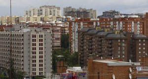 Spain's government recently issued an emergency decree to limit rent increases to the inflation rate in new contracts for the country's six million apartments. This June 28, 2017, photo shows residential apartment blocks in Madrid, on Wednesday. (Bloomberg file photo)