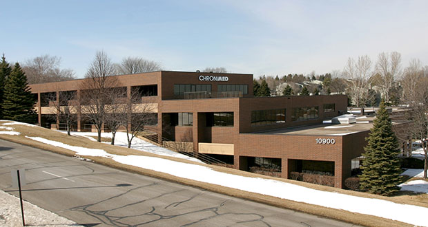 Launch Properties has signed a purchase agreement to buy a 104,000-square-foot building at 10900 Red Circle Drive in Minnetonka. The property would be part of a future redevelopment. (Submitted photo: CoStar)