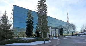 Two Twin Cities companies sold Minnetonka Corporate Campus I and II at 12800 and 12900 Whitewater Drive for $19 million, according to a certificate of real estate value. This photo shows the building at 12800 Whitewater Drive. (Submitted photo: CoStar)