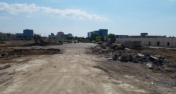 A site cleared last year at 2501, 2601, and 2701 American Blvd. E. and 2600 Lindau Lane in Bloomington is one of several possible locations for a future consolidated headquarters for sensor maker Sick USA. (File photo)