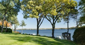 The property at 18070 Breezy Point Road in Woodland has sold for $4 million, but the house will be demolished to create the site for a new home along Lake Minnetonka. (Submitted photo)
