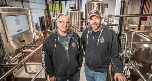 Lupulin Brewing Co.'s founders are Jeff Zierdt, left, and Matt Schiller. (Submitted photo)