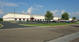 Eagle Ridge Partners and Artemis held the Oakdale Interstate Center at 550 Hale Ave. N. in Oakdale for one year before selling it this week. (Submitted photo: CoStar)