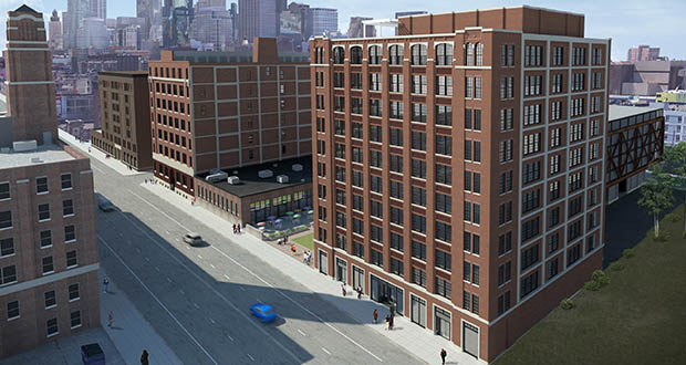 The Nordic at 729 Washington Ave. N. in Minneapolis will now include 57 condominiums. (Submitted illustration: United Properties)