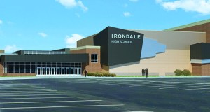 Kraus-Anderson Construction recently began to work on this $24.7 million expansion of Irondale High School in New Brighton, one of dozens of K-12 projects on the contractor's 2019 schedule. (Submitted rendering: Wold)