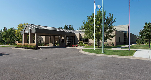 Passion Church Inc. closed May 28 on the $3.3 million acquisition of the office building and 3.29-acre site at 13000 63rd Ave. N. (Submitted photo: CoStar)