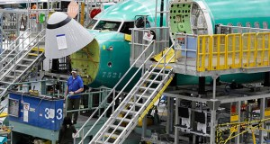 Corporate boards of directors often fail to act in time to protect brands, prevent harm to the public and safeguard investors. This March 27 photo shows a Boeing 737 MAX 8 airplane on the assembly line during a brief media tour of Boeing's 737 assembly facility in Renton, Washington. The 737 Max jet is grounded after two recent deadly crashes. (AP file photo)