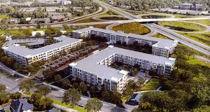 Dominium's plan for the Four Seasons Mall site in Plymouth includes two general-occupancy affordable apartment buildings and an affordable, independent living senior building. (Submitted illustration: Dominium)