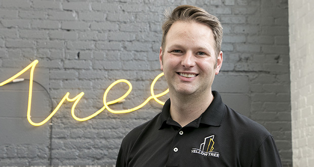 Yellow Tree co-founder Robb Lubenow at the company's south Minneapolis offices at 1834 38th St. E. (Staff photo: Matt M. Johnson)