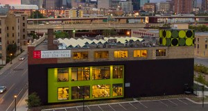 Extensively renovated into creative office space, the 51,180-square-foot 811 Glenwood building is across the street from International Market Square and is adjacent to downtown Minneapolis. (Submitted photo: First & First)