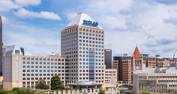 Ecolab Corporate Center, 1 Ecolab Pl, St Paul. (Submitted photo)