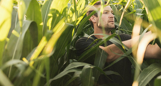 Zach Johnson, 34, became a video blogger three years ago to advocate for growers and the technology they use. (Submitted photo: Zach Johnson via Bloomberg News)