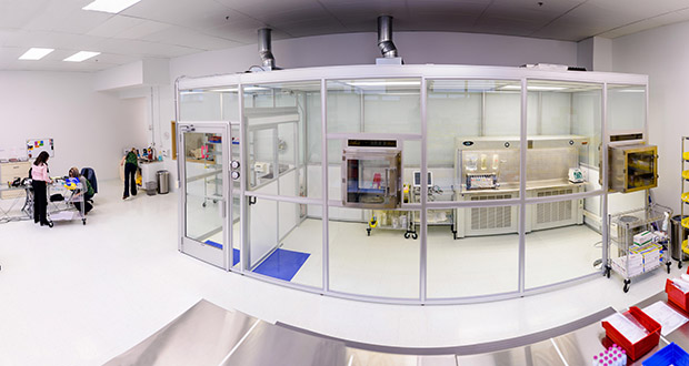 Rochester Home Infusion occupies 3,500 square feet of Rochester's Minnesota BioBusiness Center and features a state-of-the-art clean room for compounding medications. (Submitted photo)