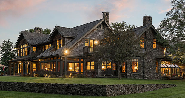 This home at 310 Ferndale Road in Wayzata sold for $9 million, making it the biggest residential sale in the 16-county metro area so far this year. (File photo: Spacecrafting/Realtor.com)