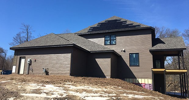 Litty Solar built this 11.8 kW solar system, believed to be the first in the world using the RGS Powerhouse 3.0 system, for a home in Sartell, Minnesota. (Submitted photo: Finnovation Lab)