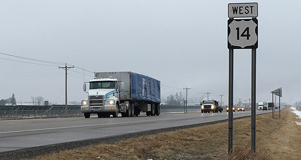 Shafer Contracting submitted a $108 million bid Wednesday for the Highway 14 expansion in Steele County. (Submitted photo: MnDOT)