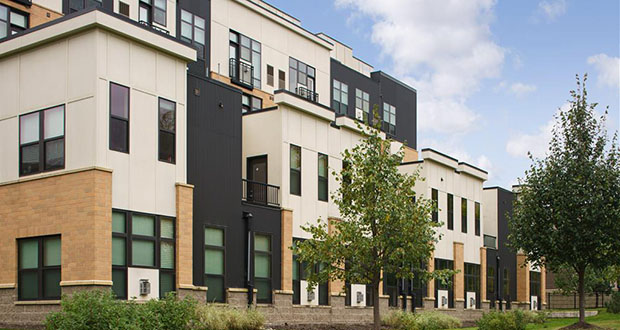The 158-unit Lake Calhoun Flats at 3036 W. Lake St. last sold in 2013. (Submitted photo: CoStar)